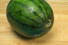 Wassermelonenweißhintergrund Stockbild