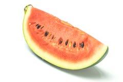 Wassermelonenweißhintergrund Lizenzfreies Stockfoto