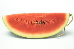Wassermelonenweißhintergrund Lizenzfreies Stockbild