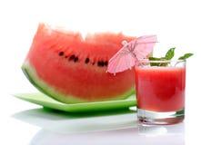 Wassermelonesaft Lizenzfreie Stockfotos
