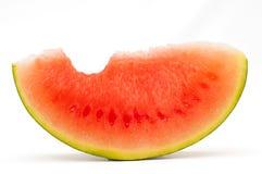 Wassermelonescheibe Lizenzfreies Stockbild