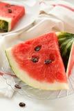 Wassermelonescheiben Lizenzfreies Stockbild