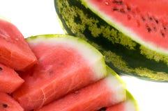 Wassermelonescheiben. Lizenzfreies Stockfoto