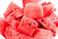 Wassermelonestücke Lizenzfreies Stockbild