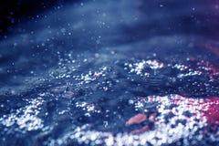 Wasseroberfläche mit Wellen stockbilder