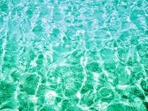 Wasseroberflächenbeschaffenheit Stockfotografie