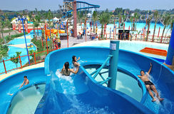 Wasserpark Lizenzfreie Stockbilder