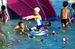 Wasserpark Lizenzfreie Stockfotografie