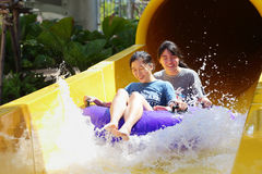 Wasserpark Lizenzfreie Stockfotos