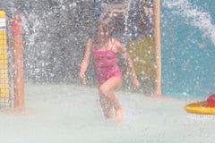 Wasserpark Stockfoto