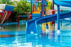 Wasserpark Stockbild