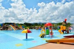 Wasserpark bunt Lizenzfreie Stockbilder