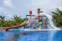 Wasserpark für Kind lizenzfreie stockbilder