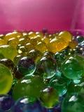 Wasserpolymerbälle für Kinder und Dekor Lizenzfreie Stockfotografie