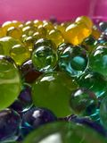 Wasserpolymerbälle für Kinder und Dekor Lizenzfreie Stockbilder