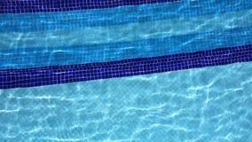Wasserpool und -feiertag stock footage
