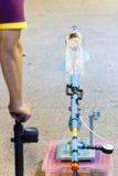 Wasserraketen abgefeuert lizenzfreies stockbild