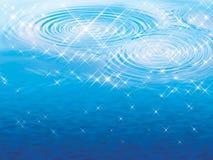 Wasserreflex lizenzfreie abbildung