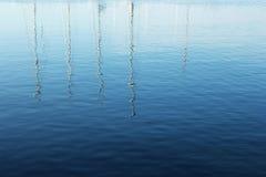 Wasserreflexionen Lizenzfreie Stockbilder