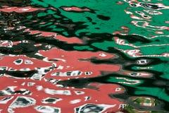 Wasserreflexionen Lizenzfreie Stockfotos