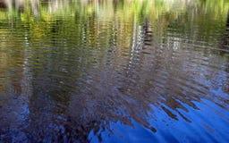 Wasserreflexionen Lizenzfreie Stockfotografie