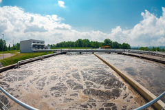 Wasserreinigungsanlage Lizenzfreie Stockfotografie