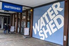 Wasserscheide Lizenzfreies Stockfoto