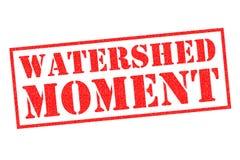 WASSERSCHEIDE-MOMENT Stempel Stockfotografie