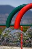 Wasserschläuche lizenzfreie stockfotos