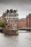 Wasserschloss Hamburg Royalty Free Stock Image