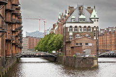 Wasserschloss Hamburg Stock Photo