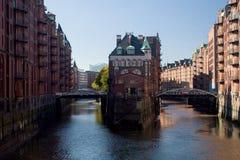Wasserschloss in Hamburg Royalty Free Stock Photography
