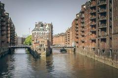 Wasserschloss Hamburg Stock Photography