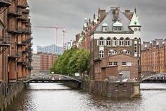 Wasserschloss Hamburgo foto de archivo