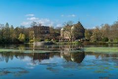 Wasserschloss Wittringen, Gladbeck, Północny Westphalia, zarazek Fotografia Stock