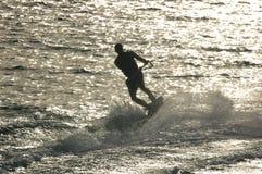 Wasserski Stockbild