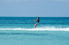 Wasserskifahren Lizenzfreie Stockbilder