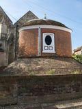Wasserspeicherzisterne in Rye, Großbritannien Stockbilder