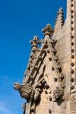 Wasserspeier. Oxford, England Stockbild