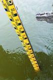 Wasserspiegel-Messgerät. Lizenzfreies Stockbild