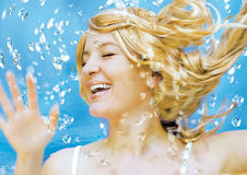 Wasserspiele Stock Photo