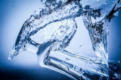 Wasserspritzen Stockfoto