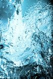 Wasserspritzen lizenzfreie stockbilder