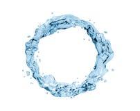Wasserspritzenrausch, Wasserring Stockfoto