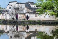 Wasserstadt in der Südchina Stockbild