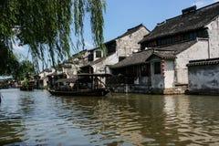 Wasserstadt in der Südchina Lizenzfreies Stockbild