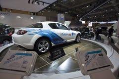 Wasserstoff RE Mazda-RX8 bei Autoshow 2010 stockfoto