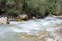 Wasserstraße der Inkaspur Lizenzfreies Stockbild
