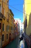 Wasserstraße Venedig, Italien Lizenzfreie Stockfotos