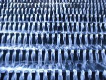 Wasserstrom auf Treppen Lizenzfreie Stockbilder